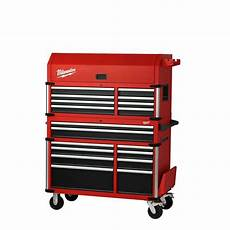 high capacity 46 in drawer tool chest and cabinet combo