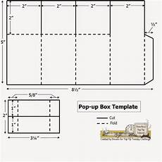 pop up card template for a path of paper top tip tuesday numbers challenge and pop