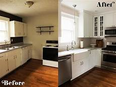small kitchen diy ideas before after remodel pictures