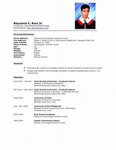 Example Of Resume Form Comprehensive Resume Sample Free Samples Examples