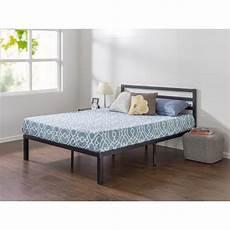 zinus luis lock 14 inch metal platform bed frame