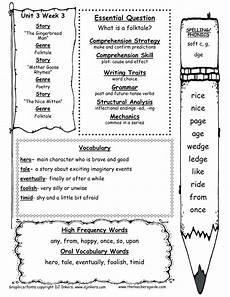 Wonders First Grade Unit Three Week Two Printouts