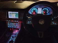 Jaguar Xe Interior Mood Lighting The Interior Of My Jaguar Xf At Night I Love The Blue And