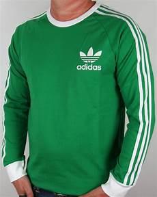 adidas sleeve shirt adidas originals adicolour sleeve t shirt green white
