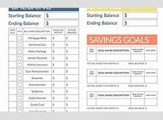 Budgeting Worksheets. A Number Of Considerations On Subject