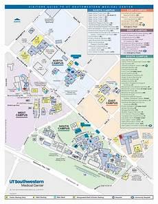 Ut Southwestern My Chart U T Southwestern Campus Map Map Of World
