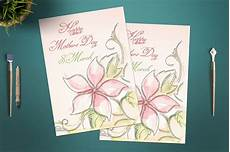 Day Cards Templates Mother S Day Card Template Card Templates Creative Market