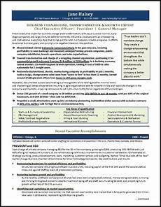 Construction Executive Resume Samples General Manager Resume Example For A Ceo Gm Candidate