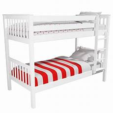 oxford single bunk bed in white buyitdirect ie