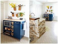 rolling kitchen island buildsomething