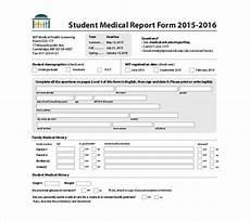 Medical Format Templates Free Printable