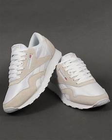 Reebok Classic White Light Grey Reebok Classic Trainers White Light Grey Shoes