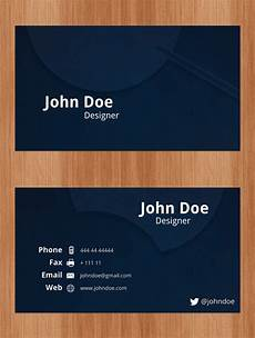 Visiting Card Format Download Free Business Cards Psd