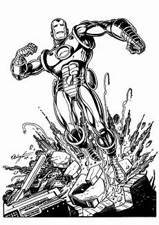 Malvorlagen Ironman Iron Coloring Pages Free Printable Coloring Pages