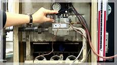How To Light A Old Furnace Pilot Lighting Youtube