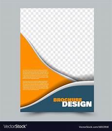 Background Leaflet Design Abstract Flyer Design Background Brochure Vector Image