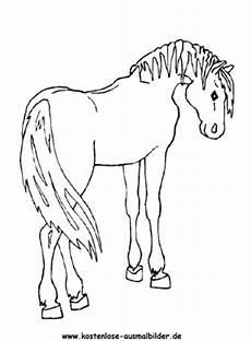 kostenlose ausmalbilder ausmalbild pferd 11