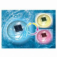 Floating Solar Pool Lights Walmart 7 Quot Solar Powered Color Changing Floating Swimming Pool