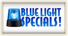 Blue Light Special Offerer Blue Light Specials Silver Slipper Casino