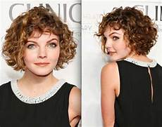 kurzhaarfrisuren rundes gesicht locken 15 popular curly hairstyles for faces
