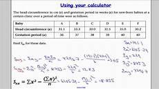 Bivariate Data Edexcel S1 Tutorial 10 Bivariate Data Youtube
