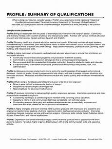 Qualification On A Resumes Summary Of Qualifications Template 13 Free Templates In