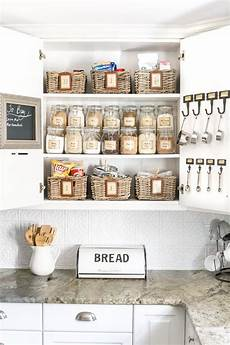 pantry cabinet organization and printable labels bless