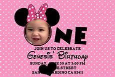 Free Printable Minnie Mouse Invitations Printable Minnie Mouse Birthday Invitations Bagvania