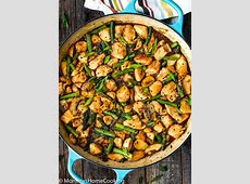 Easy Healthy Chicken and Asparagus Skillet   Mommy's Home