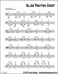 Slide Chart Major Scales For Trombone Yahoo Answers