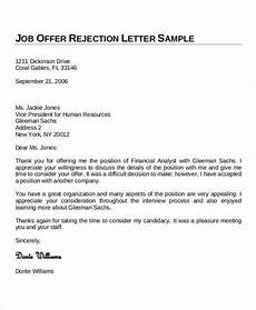 Job Offer Thank You Letter Sample Thank You Letters 60 Free Word Pdf Documents