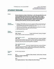 Student Resume Maker College Student Resume Template Resumesdesign Com