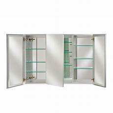afina 48 quot x 30 quot broadway mirrored medicine cabinet