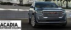 Gmc Colors For 2020 by 2020 Gmc Acadia Color Options Carl Black Kenensaw