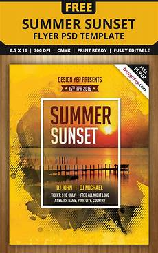 Free Party Flyer Template Free Flyer Templates Psd From 2016 187 Css Author