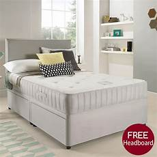 beds co uk suede divan bed with memory foam