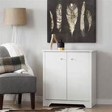 shop south shore vito small white 2 door storage cabinet