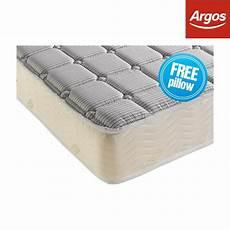 dormeo deluxe memory foam mattress white single for