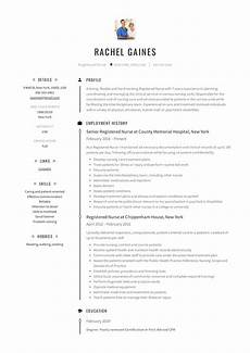 Resume For Nurses Applying Abroad Registered Nurse Resume Sample Amp Writing Guide 12