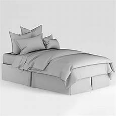 bedclothes green 3d model max obj fbx cgtrader