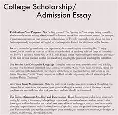 College Application Essays 8 Samples Of College Application Essay Format And Writing