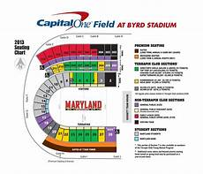 Maryland Football Seating Chart Maryland Football Stadium Seating Google Search