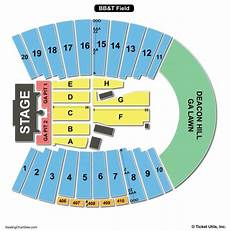 Bb T Seating Chart For Concerts Bb Amp T Field Seating Chart Winston Salem Seating Charts