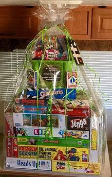 Good Raffle Prize Ideas Family Game Night Raffle Basket Family Gift Baskets