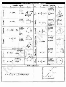 Geometric Formula Geometric Formula Sheet Printable Pdf Download