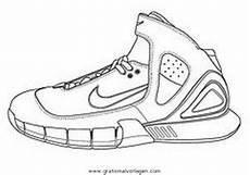 Kostenlose Malvorlagen Turnschuhe Turnschuhe Nike 1 Gratis Malvorlage In Diverse Malvorlagen