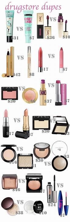 best drugstore dupes makeup dupes drugstore makeup