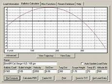 Bullet Ballistic Coefficient Chart Ballistics Software And Hardware Within Accurateshooter Com