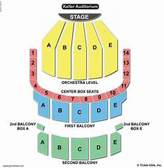 Auditorium Seating Chart Keller Auditorium Seating Chart Seating Charts Amp Tickets