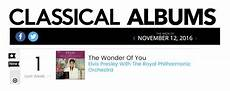 Billboard Classical Albums Chart Elvis Day By Day November 02 Elvis 1 On Billboard